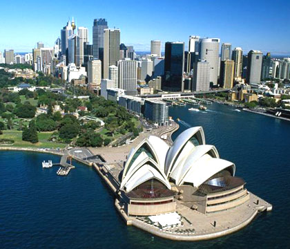 Private Jet to Sydney, Australia