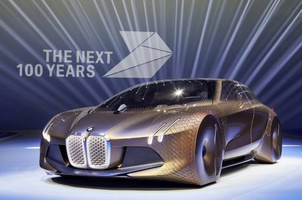 BMW Vision the next 100
