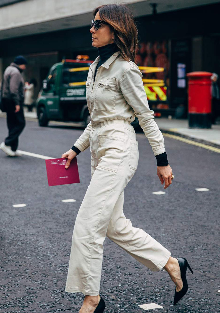 belted jumpsuit autumn workwear 2019