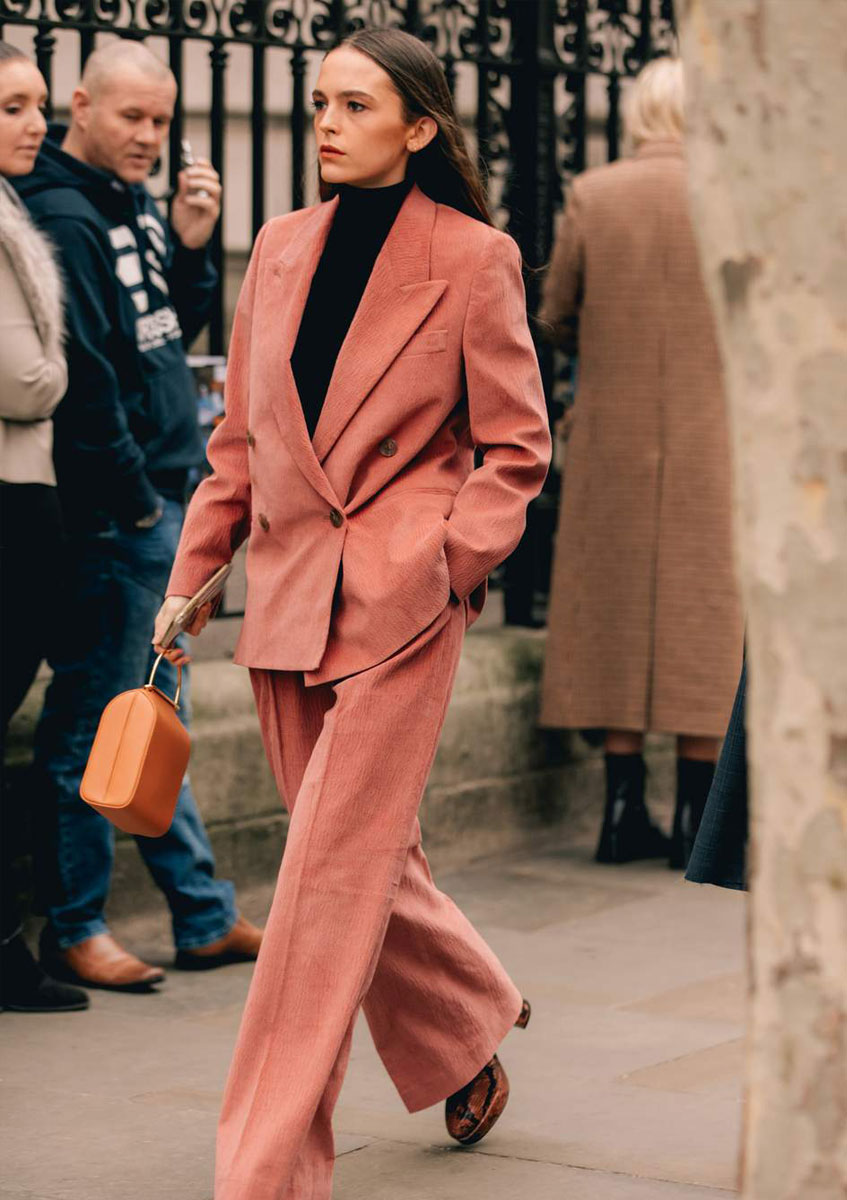 autumn workwear statement suit