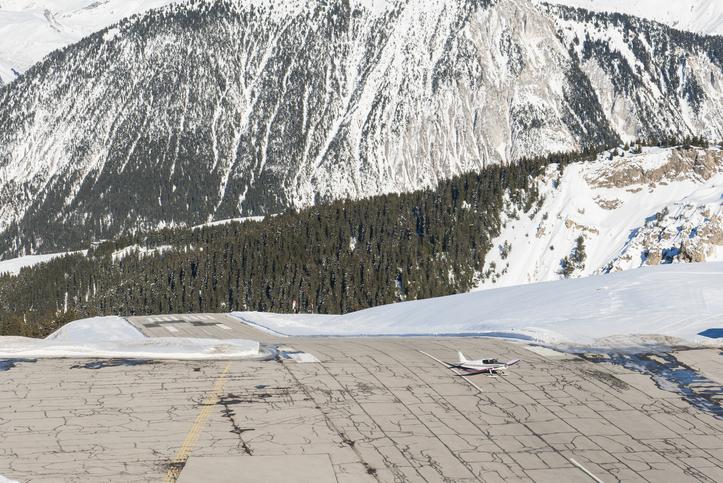 private charter courchevel airport
