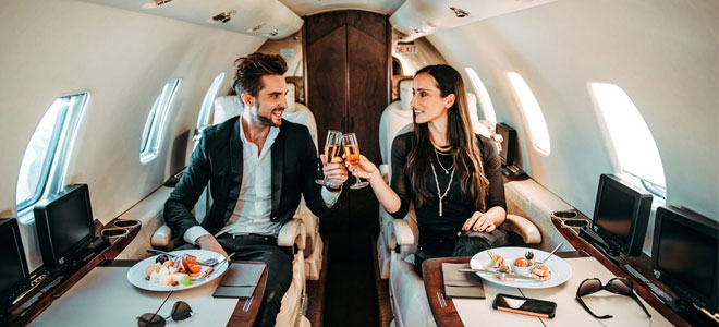 reasons to fly private