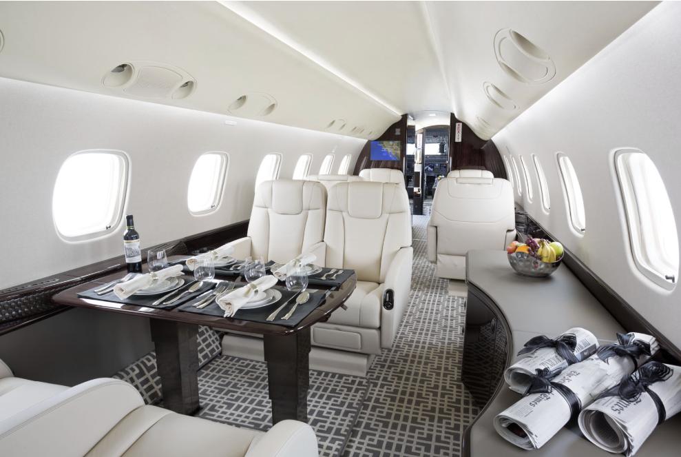 executive charter plane