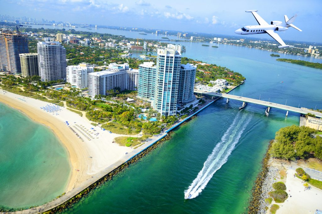 Miami Yacht Show by Private Jet