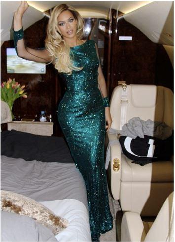 Beyoncé Private Jet