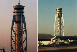 Multi-legged Tower at the Dubai International Airport