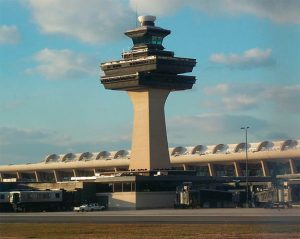 Truly a Classic Shape: Dulles Airport Tower, Washington