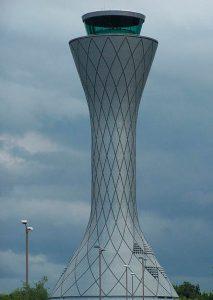 The Helix-like Edinburgh Airport Tower